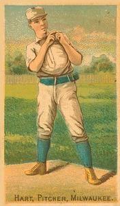 1887 Buchner Gold Coin (N284) #NNO Bill Hart Front