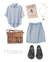 """Old School Outfit / BTS"" by youaremorethanbeautiful ❤ liked on Polyvore featuring YMC, Kenneth Cole, Rowallan and Chicnova Fashion"