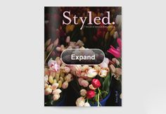 Beautiful e-magazine (free) that you look at online by flipping pages just like a magazine in your hands.  Full of DIY party ideas.