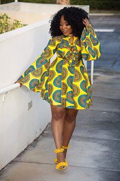 Latest Ankara Gown Styles Most Trendy & Fashionable ankara styles for ladies - Owambe Celebrities World African Fashion Ankara, Latest African Fashion Dresses, African Print Dresses, African Dresses For Women, African Print Fashion, Africa Fashion, African Attire, African Wear, African Prints