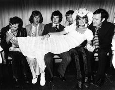 Most of Monty Python, Terry Jones, Eric Idle, Michael Palin, Graham Chapman, Carol Cleveland, John Cleese