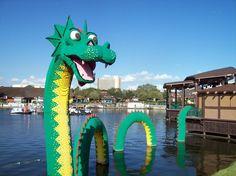 Lego land Downtown Disney Orlando