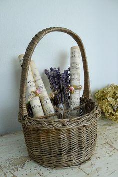 アンティーク バスケット(仕切り付き) French antique wicker basket ¥ 4,480yen