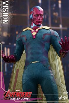Hot Toys Avengers Age of Ultron Vision 7