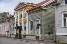 Small Town Girl, Small Towns, Finland, Buildings, Houses, Beautiful, Homes, Computer Case, Home