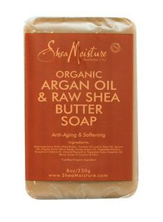 Raw Shea Butter Soap.