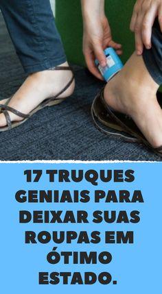 17 truques geniais para deixar suas roupas em ótimo estado.