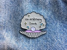 no ordinary love // A SADE Inspired Enamel Pin for Lovers