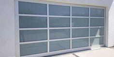 Aluminum glass garage doors by garage doors 4 Less. Glass Garage Door, Garage Door Opener, Garage Doors, Garage Door Spring Repair, Garage Door Springs, Windows, Carriage Doors, Ramen, Window
