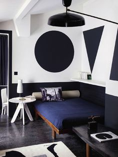 Graphic wall treatments