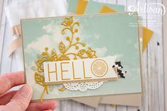 Stampin' Up! Flourishing Phrases + All Year Long Collection 3 ~ Susan Wong Project Life Cards, Stampin Up Catalog, Make Blog, Fall Flowers, Diy Cards, Stampin Up Cards, Gift Tags, Cardmaking, Inspiration Cards