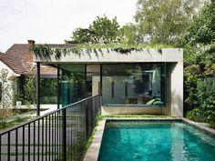 Australian Architecture, Australian Homes, Interior Architecture, Interior Design, Melbourne Architecture, Concrete Architecture, Garden Architecture, North Facing Garden, Smooth Concrete