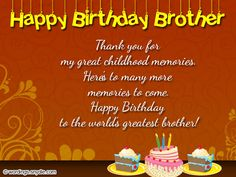 Brother Birthday Wishes Best 50 Messages For Your Wordings And
