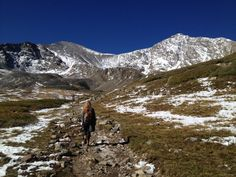 Guide to 14er season. Jeff Golden, experienced hiker and Colorado Mountain Club marketing manager, breaks down mountain-climbing preparedness.