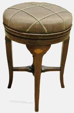 Victorian Piano Stool & round piano stools | piano stool antique revolving stool round ... islam-shia.org