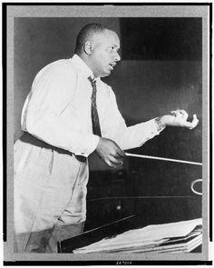Charles Dean Dixon, conductor  (1915-1976)