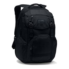Under Armour Coalition 2.0 Backpack, Black/Black, One Size