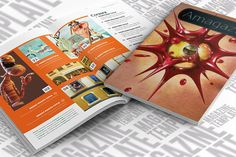 Check out InDesign Magazine Template by scilaverna on Creative Market