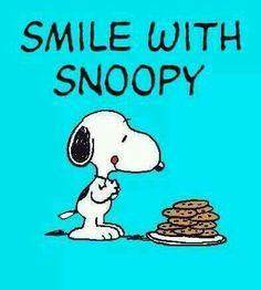 Smile with Snoopy