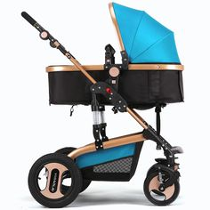 132.61$  Watch now - http://aliunn.worldwells.pw/go.php?t=32702064801 - 2016 New Arrival Baby Stroller High Quality Children Push Chair Lying and Sitting Folding Umbrella Cart for Children 0-3Y WW0018