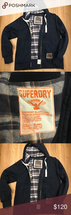 SUPERDRY BLACKSEAL HOODED jacket size XXL Super warm superdry jacket in nice preowned con size 2xl Super Dry Jackets & Coats