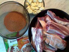 Hrachove rebrá (fotorecept) - obrázok 1 Pork, Beef, Kale Stir Fry, Meat, Pork Chops, Steak