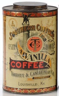 Southern Coffee's Savanilla Coffee