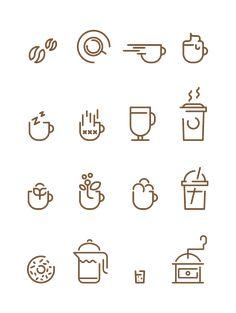 Coffee Icon Icons from GraphicRiver - Coffee Icon - Ideas of Coffee Icon - Ganoderma Black Coffee Ganoderma Coffee Coffee Icon Ideas of Coffee Icon Coffee Icons Francesco Lucchiari in Icons Symbols & Pictograms Coffee Shop Logo, Coffee Branding, Web Design, Icon Design, Graphic Design, Coffee Icon, Coffee Coffee, Black Coffee, Coffee Type