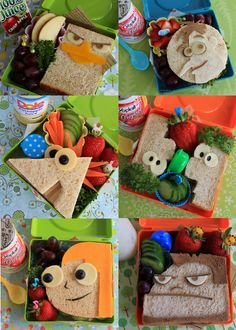 I need to make Phineas and Ferb sandwiches for my children
