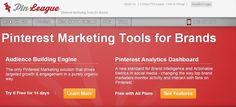 PinLeague.com - A Pinterest Marketing Firm with their own Pinterest Analytics Dashboard.
