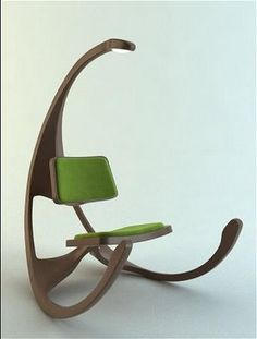 Not your Grandma's rocking chair.