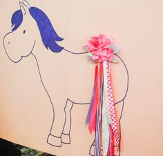 Horse Party, Pin the tail on the horse