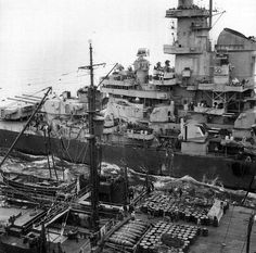 """Iowa Class Battleship - USS Missouri (I believe) - Front Conning Tower - Up to 17 inches of protective armour (inside her """"inner bridge"""").  This meant that command staff were protected from heavy calibre enemy shells (which with thick armour also on the turrets - meant that Iowa's could """"return fire"""", even when ablaze)."""