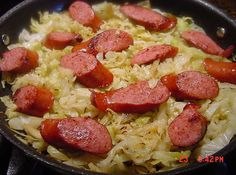 CABBAGE AND SAUSAGES  --  BONNIE'S