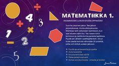 Hetkiä alakoulussa: Matematiikan yksilöllinen polku ensimmäisen luokan keväälle