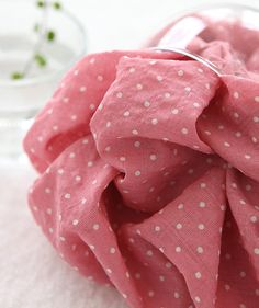 Petit dots on Murky Pink - for a simple skirt