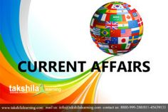 Today Current affairs in Hindi | GK Updates In Hindi  #currentaffairs #takshilalearning #9thApril2018