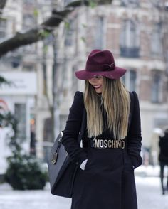 Winter Chic With Moschino