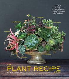 The Plant Recipe Book by Baylor Chapman retails for $24.95. It is available through Amazon, Books Inc., and other book sellers.