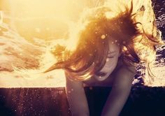 girl under water - Google Search