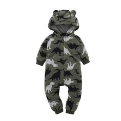 Catpapa Baby Boy Dinosaur Outfit Baby Brother Romper Bodysuit