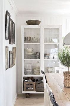 Tastefully adding storage for kitchen items