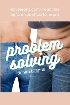How great is it when you find a solution to a problem you've been living with for years! These 3 denim brands address women's problems they find when wearing jeans. These brands could end that problem. Fix that problem now. Apple Body Type, Apple Body Shapes, White Denim Skirt, White Jeans Outfit, Plus Size Body Shapes, Women Problems, Petite Body, Curvy Jeans, Tummy Tucks