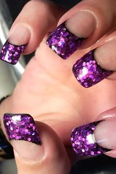 Sequin Nails!