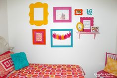 Girls Bedroom Makeover_Gallery Wall