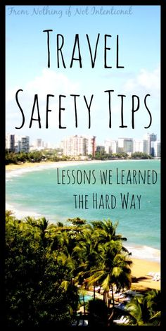 Safe travels everyone! #travel #safety