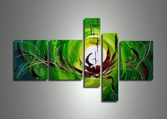Discount Sale Continues!!! Buy to Win 50% Reduction! (for one week from today) Does this Green Abstract Art Suit your Interior? - Use 'SPECIAL50' code at http://fabuart.com/green-abstract-artwork