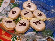 Mocca oválky Czech Recipes, Mocca, Good Mood, Muffin, Eggs, Cookies, Breakfast, Czech Food, Christmas
