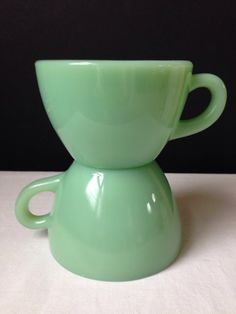 Anchor Hocking Fire King  Restaurant Ware  Jadeite   by nddevens