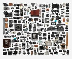 Magnificent visual taxonomy of vintage cameras from photographer...